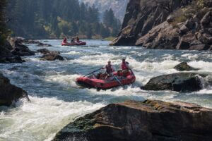 whitewater rafting in New Zealandtrip