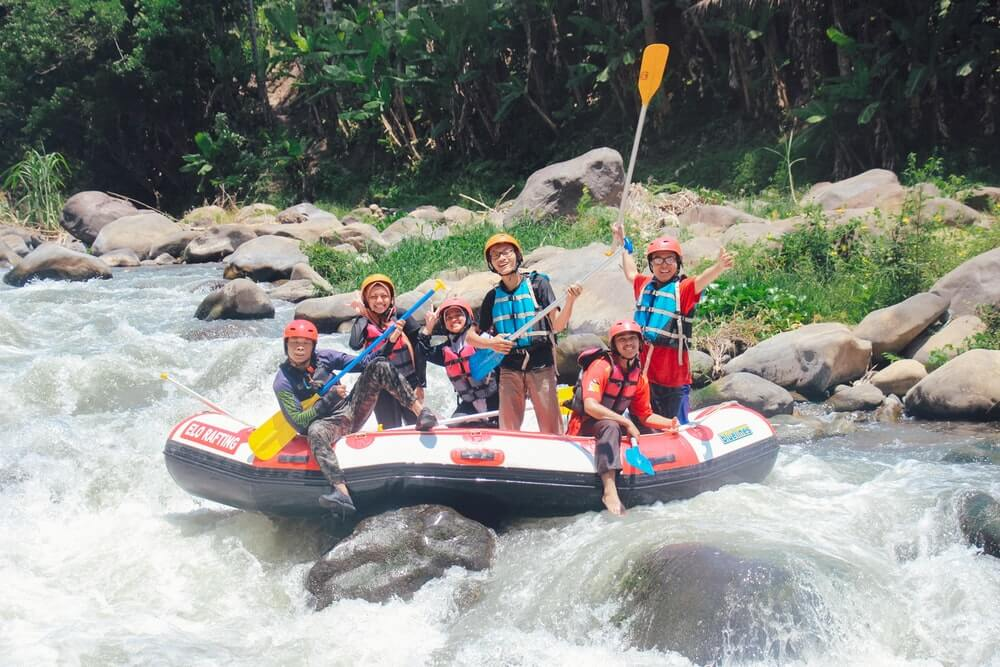 Rafting The Rapids