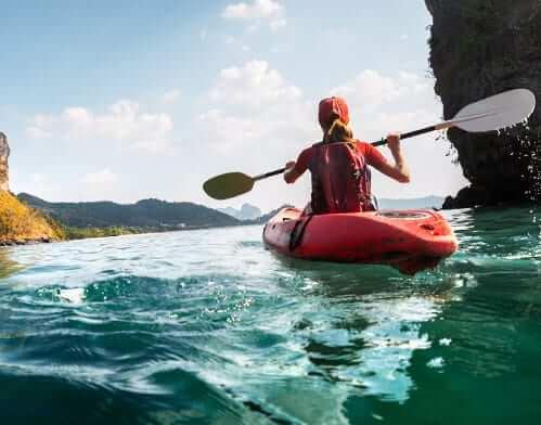 kayaking is good exercise